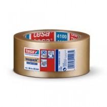 CINTA PRECINTO TRANSPARENTE 66X50 PVC TESA