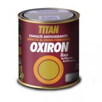 ESMALTE ANTIOX.OXIRON LISO BRI.NEGRO 375ML INT/EXT