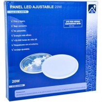 DOWNLIGHT LED RED. AJUSTABLE 20W 4000K BL.50-210MM