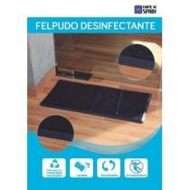 FELPUDO DESINFECTANTE 2COMPARTIMENTOS PVC 80X40