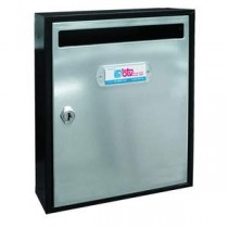 BUZON INTERIOR TEIDE COLOR NEGRO E INOX